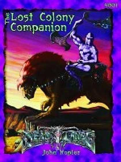 Role Playing Games - PEG4001 Deadlands: Lost Colony Companion