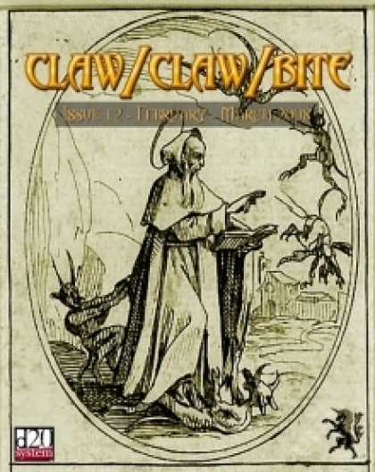 Role Playing Games - Claw / Claw / Bite Issue 12