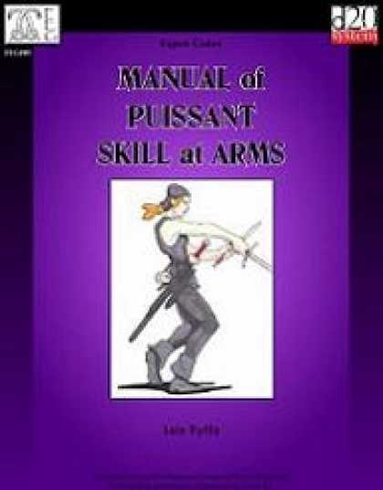 Role Playing Games - Expert Codex: Manual of Puissant Skill at Arms