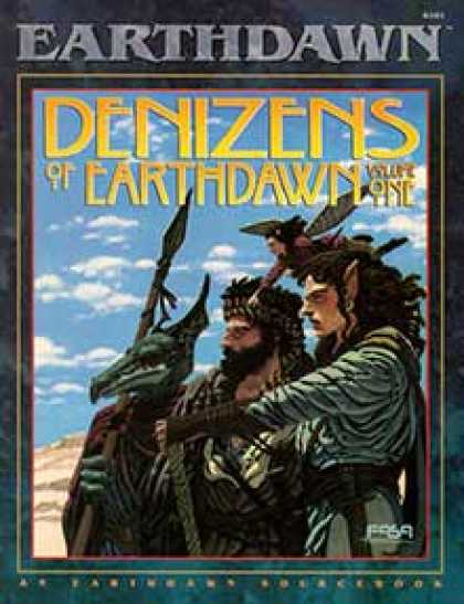Role Playing Games - Denizens of Earthdawn, Volume I