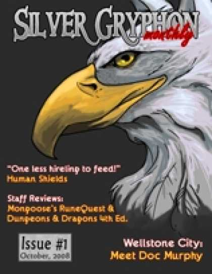 Role Playing Games - Silver Gryphon Monthly - October 2008