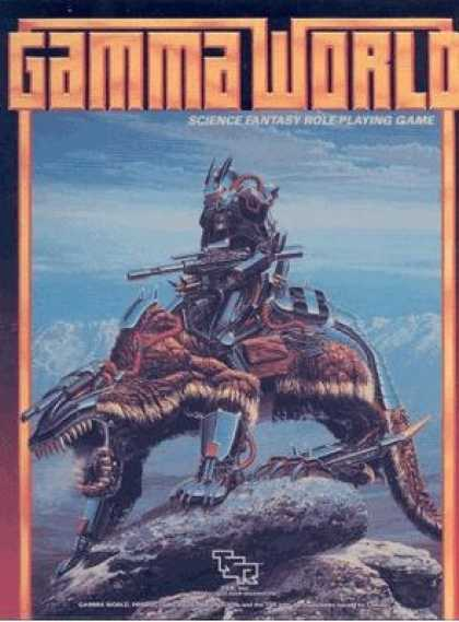 Role Playing Games - Gamma World 3rd Edition