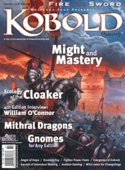 Role Playing Games - Kobold Quarterly 4