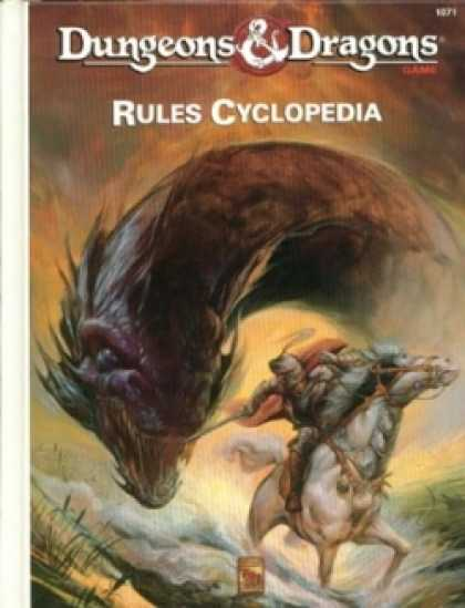 Role Playing Games - D&D Rules Cyclopedia