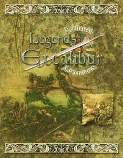 Role Playing Games - Legends of Excalibur: Arthurian Adventures HC
