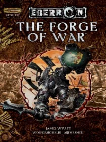 Role Playing Games - Eberron - The Forge of War