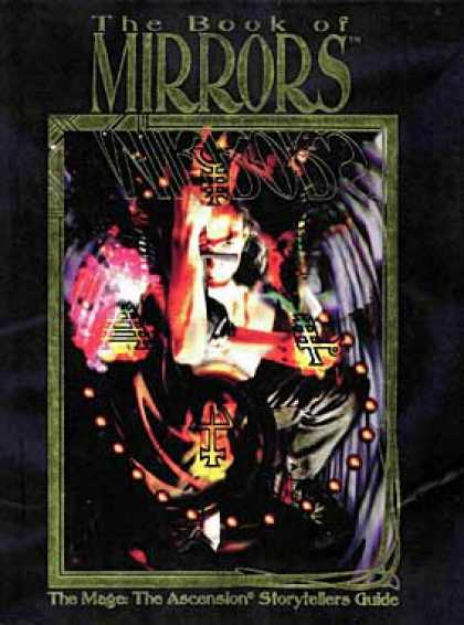 Role Playing Games - Book of Mirrors: Mage Storytellers Handbook
