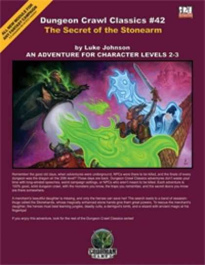 Role Playing Games - Dungeon Crawl Classics #42: Secret of the Stonearm