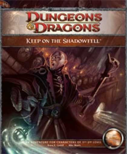 Role Playing Games - H1 Keep on the Shadowfell (4th Edition Adventure)