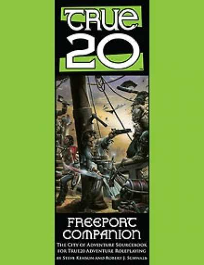 Role Playing Games - True20 Freeport Companion