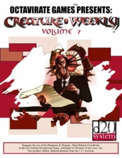 Role Playing Games - Creature Weekly Volume 7