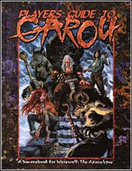 Role Playing Games - Players Guide to Garou