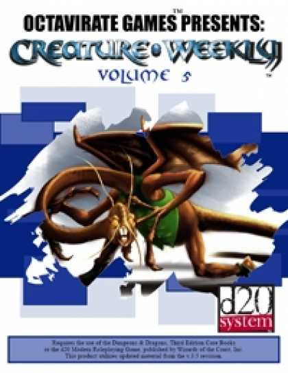 Role Playing Games - Creature Weekly Volume 5