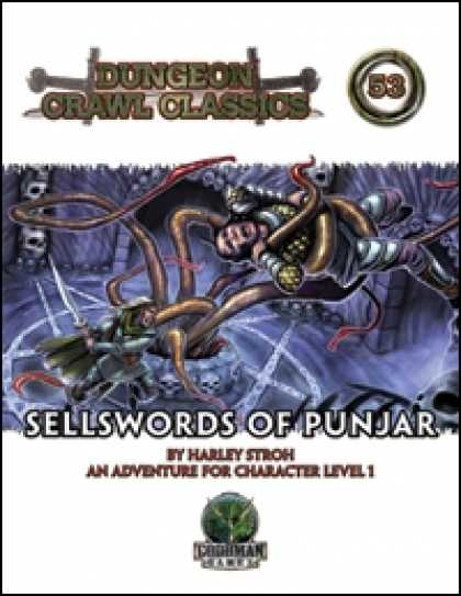 Role Playing Games - Dungeon Crawl Classics #53: Sellswords of Punjar