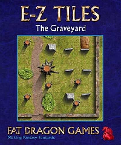 Role Playing Games - E-Z TILES: The Graveyard