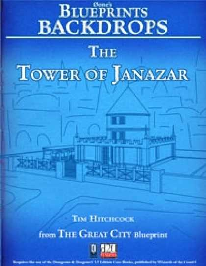 Role Playing Games - 0one's Blueprints Backdrops: The Tower of Janazar
