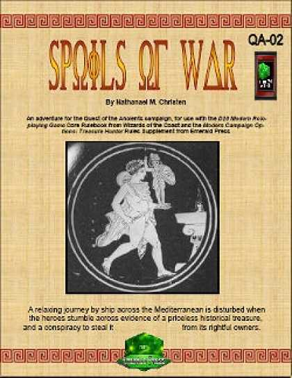 Role Playing Games - Spoils of War