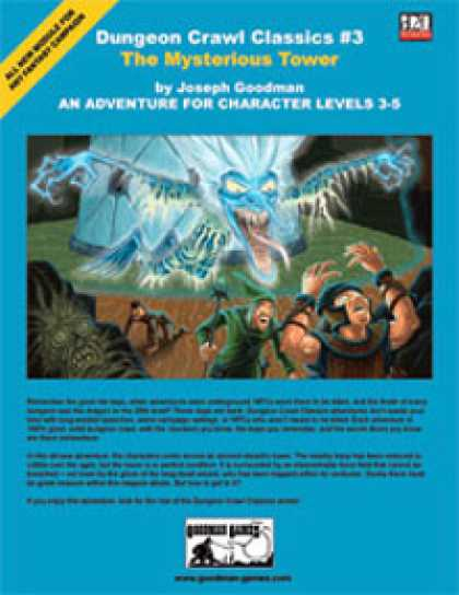 Role Playing Games - Dungeon Crawl Classics #3: The Mysterious Tower