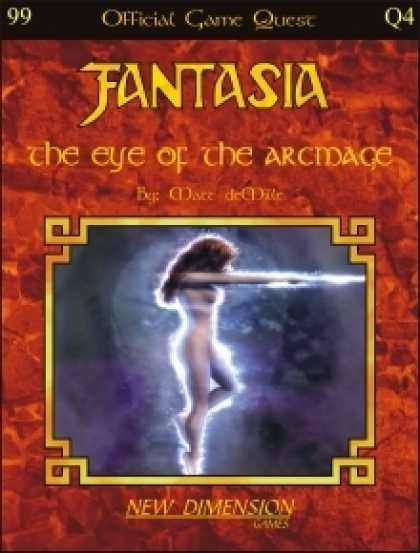 Role Playing Games - Fantasia: The Eye Of The Arcmage--Quest Q4