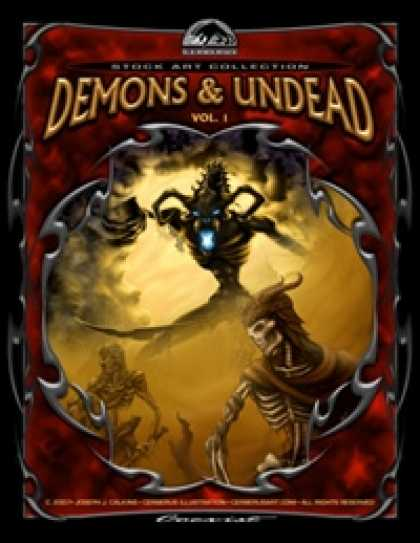 Role Playing Games - Cerberus Stock Art Collection: Demons & Undead Vol. 1