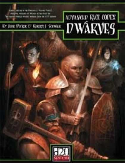 Role Playing Games - Advanced Race Codex: Dwarves
