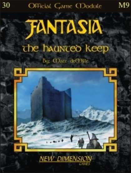 Role Playing Games - Fantasia: The Haunted Keep--Module M9