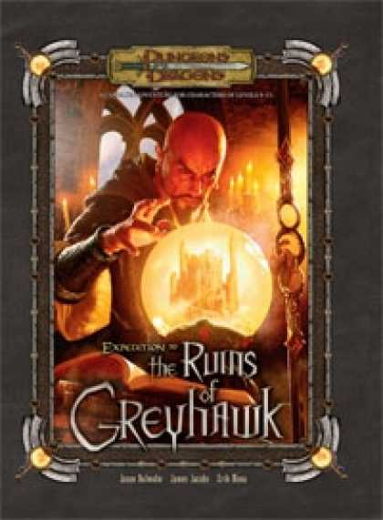 Role Playing Games - Expedition to the Ruins of Castle Greyhawk