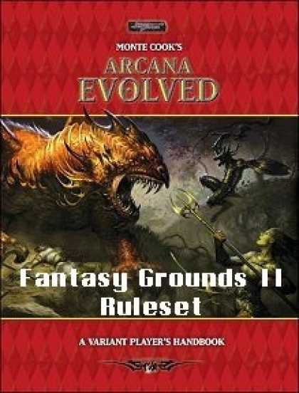 Role Playing Games - Arcana Evolved Ruleset for Fantasy Grounds II