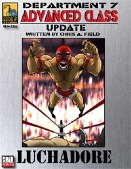 Role Playing Games - Dept. 7 Adv. Class Update: Luchadore