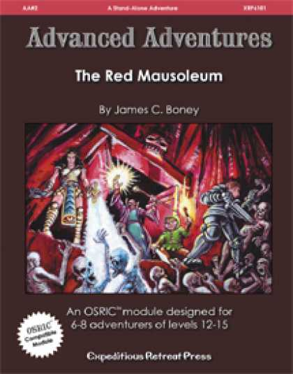 Role Playing Games - Advanced Adventures #2: The Red Mausoleum