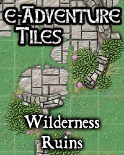 Role Playing Games - e-Adventure Tiles: Wilderness Ruins