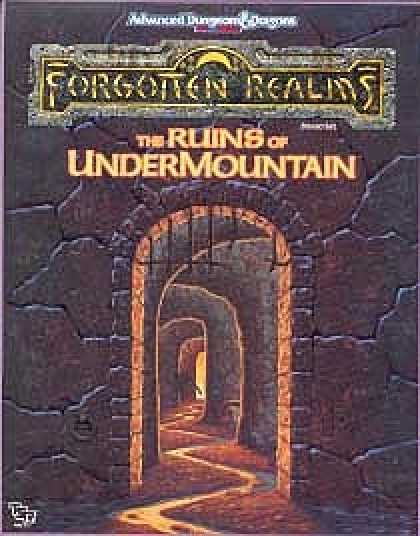 Role Playing Games - The Ruins of Undermountain
