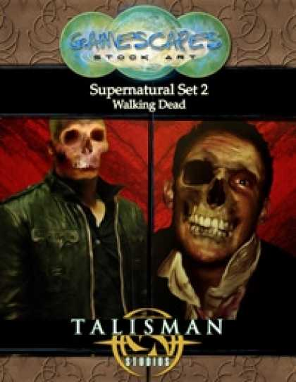 Role Playing Games - Gamescapes: Stock Art, Supernatural Set 2