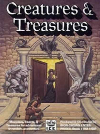 Role Playing Games - RM2 Creatures & Treasures