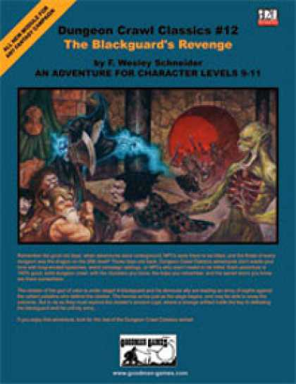Role Playing Games - Dungeon Crawl Classics #12: The Blackguard's Revenge