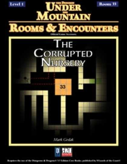 Role Playing Games - Rooms & Encounters: The Corrupted Nursery