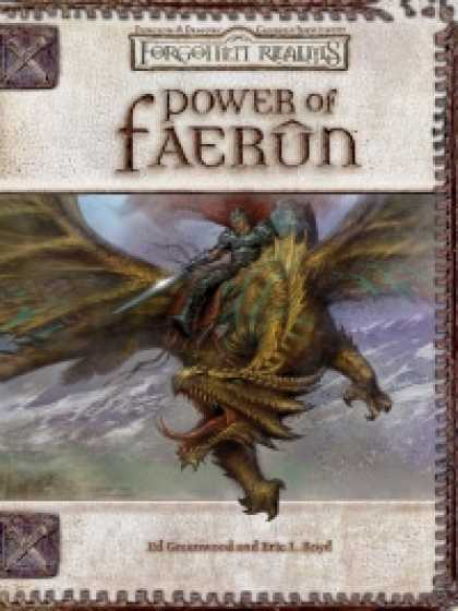 Role Playing Games - Power of Faerun