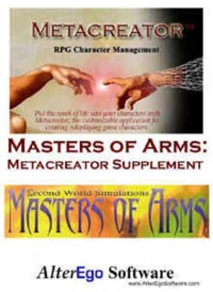 Role Playing Games - Masters of Arms: Metacreator Supplement