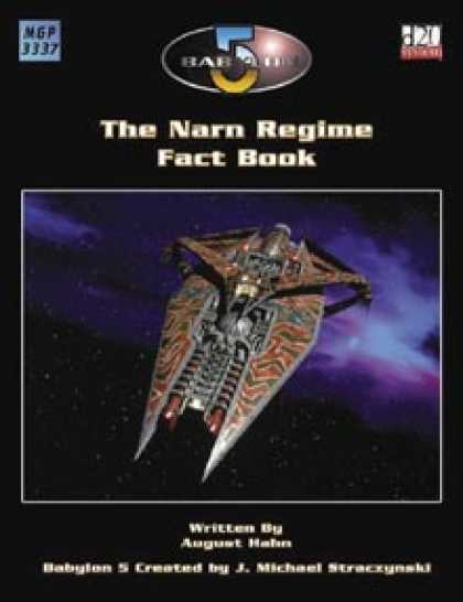 Role Playing Games - The Narn Regime Fact Book