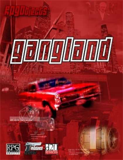 Role Playing Games - Modern System: Gangland