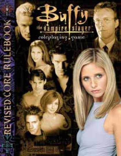 Role Playing Games - Buffy RPG Revised Corebook