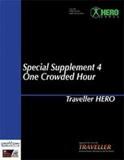 Role Playing Games - Traveller Hero - Special Supplement 4: One Crowded Hour