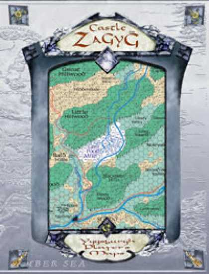 Role Playing Games - Castle Zagyg Player's Maps