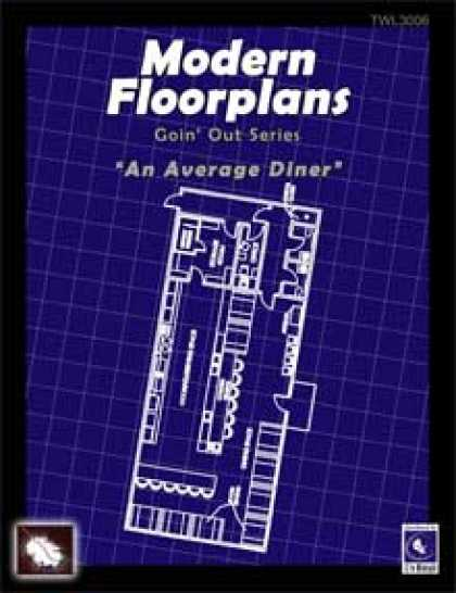 Role Playing Games - Modern Floorplans: Diner