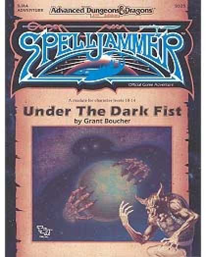 Role Playing Games - SJA4 - Under the Dark Fist