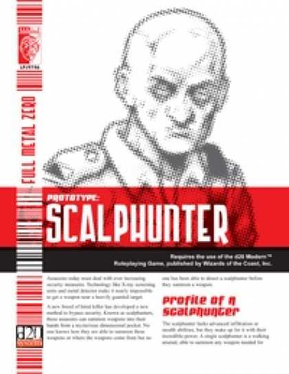 Role Playing Games - Prototype: Scalphunter