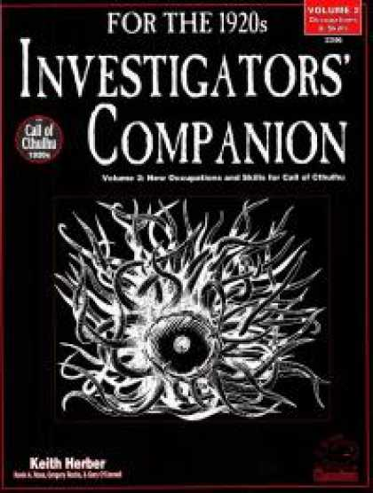 Role Playing Games - Investigators' Companion Volume II: Occupations & Skills