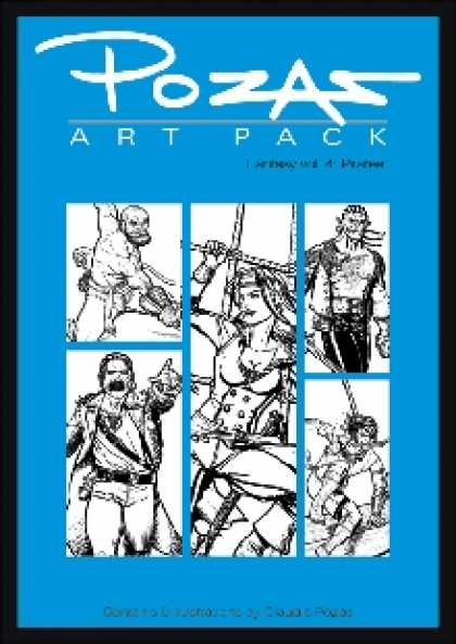 Role Playing Games - Pozas Art Pack Fantasy vol. 4: Pirates!