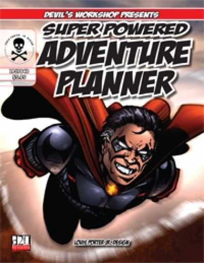 Role Playing Games - Super Powered Adventure Planner