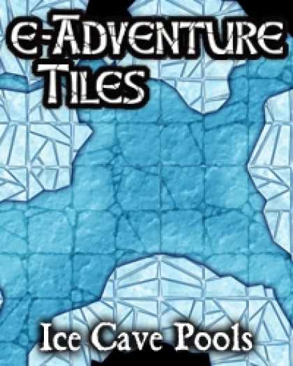 Role Playing Games - e-Adventure Tiles: Ice Cave Pools